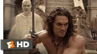 Conan the Barbarian - Conan the Barbarian (6/9) Movie CLIP - Battling the Sand Creatures (2011) HD
