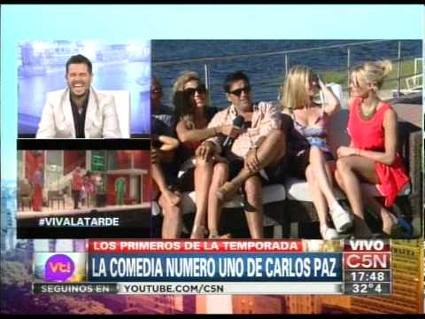 "C5N - VIVA LA TARDE: EL ELENCO DE ""MANSION IMPOSIBLE"""