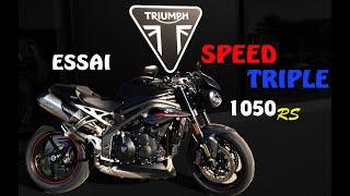 Fabike #Essai Triumph speed triple rs // Enjoy the ride!!