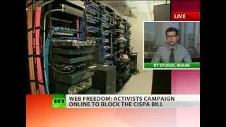 'CISPA pushed by spy & tech companies for profit'