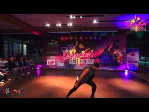 Fadi Fussion Solo Dance Performance - 2.Salsensual Dance Festival Lebanon