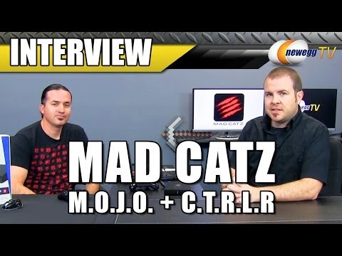 MadCatz M.O.J.O. + C.T.R.L.R Android Micro-Console & Gamepad Interview - Newegg TV