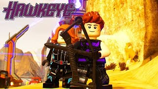 LEGO Marvel Super Heroes 2 Hawkeye Unlock Location + Free Roam Gameplay