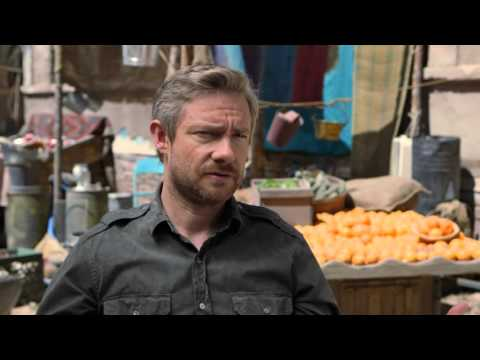 Whiskey Tango Foxtrot: Martin Freeman Behind The Scenes Movie Interview
