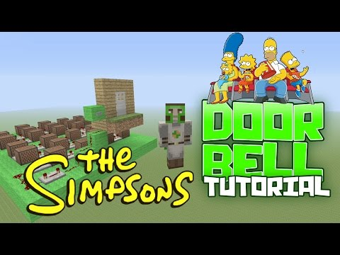 The Simpsons Noteblock Door Bell Tutorial Minecraft XBOX PS PC