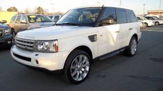 2008 Range Rover Sport Supercharged Start Up, Engine, In Depth Tour, and Short Drive