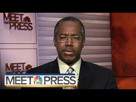 GOP Candidate Ben Carson On Obama's Foreign Policy | Meet The Press | NBC News