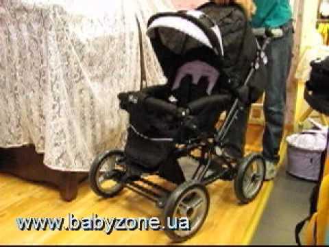 детская коляска ABC design Pramy Luxe.AVI