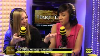 Hart of Dixie After Show w/ Mircea Monroe Season 3 Episode 9  | AfterBuzz TV