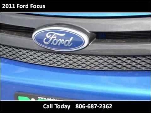 2011 Ford Focus Used Cars Lubbock TX