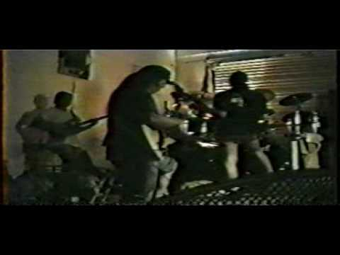 Death 1991 Rehearsal with Chuck Schuldiner Scott Carino Paul Masvidal and Sean Reinert