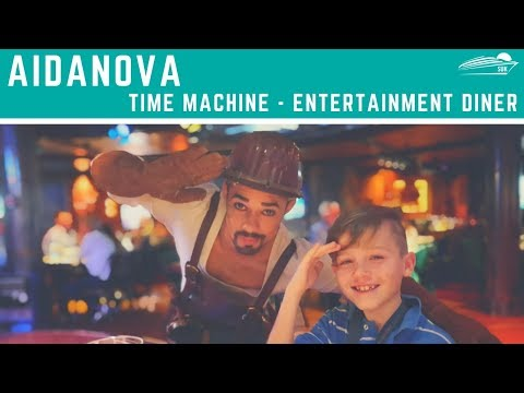 AIDAnova: Time Machine (Restaurant & Show)