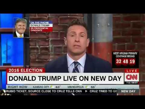 FULL   Donald Trump Interview   CNN Chris Cuomo   BILL CLINTON AFFAIRS   GOP WAR   Paul Ryan  5 9 16