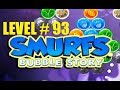 smurfs bubble story game level 93 | the lost village game