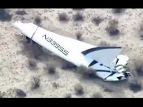 Virgin Galactic Crash - Test Pilot Killed - Space Tourism Gone Wrong - Sir Richard Branson
