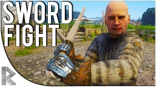 Kingdom Come Deliverance Beta - Part 2: SWORD FIGHT/TRAINING (Kingdom Come Deliverance Part 1)