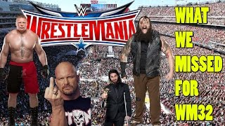 11 Great and Worst WWE Matches That Were Cancelled For Wrestlemania 32