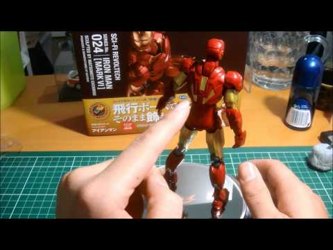 Revoltech Iron Man Mark VI Review