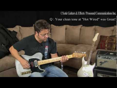 Brent Mason's clean tone with EP Booster&RC Booster