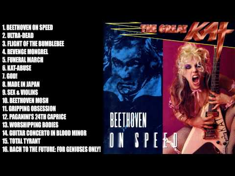 The Great Kat - Beethoven On Speed [Full Album]
