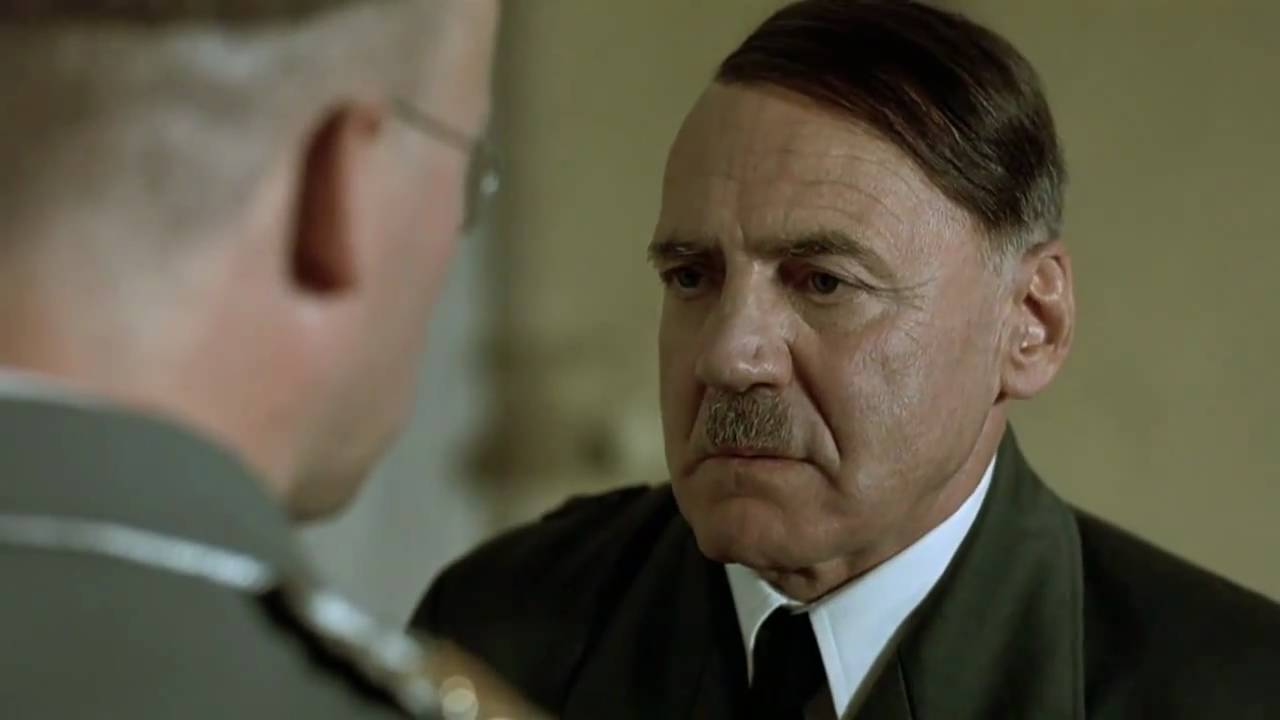 Hitler wants Himmler to give him a bath