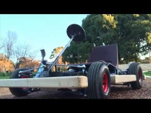 Electric Microkart test drive