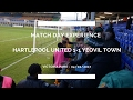 Groundhop at Victoria Park - Hartlepool United vs. Yeovil Town - PROPER FOOTBALL