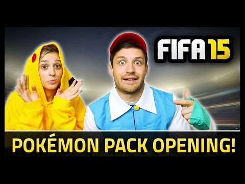 POKÉMON PACK OPENING! - Fifa 15 Ultimate Team
