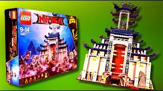 LEGO Ninjago 70617 Temple of The Ultimate Ultimate Weapon Build time lapse