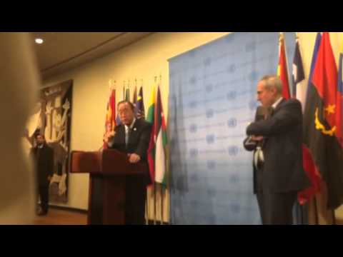 Ban Ki-moon on Yemen and Syria 2