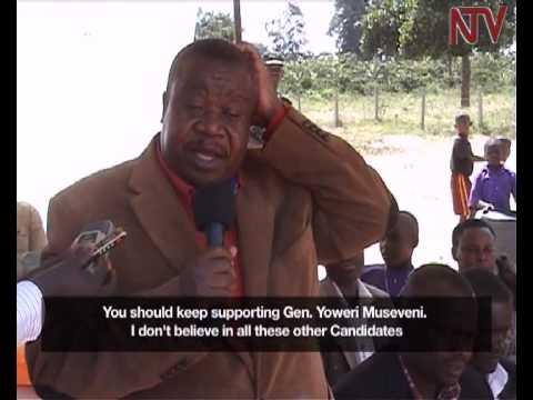 Otafiire criticizes Mbabazi for standing for president
