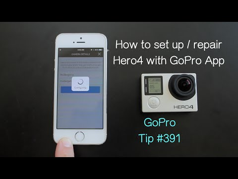 How do i hook up my gopro to my iphone