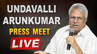 Undavalli Arun Kumar LIVE | Press meet from Rajahmundry | ABN LIVE