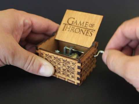 Game Of Thrones Theme - Music box by Invenio Crafts