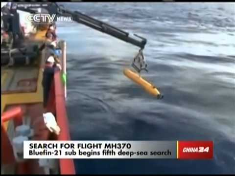 Bluefin-21 sub begins fifth deep-sea search for MH370
