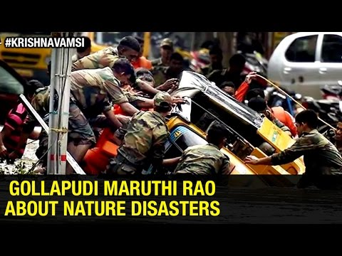 Gollapudi Maruthi Rao's Heartfelt Words about Chennai Floods | Reasons Behind the Disaster