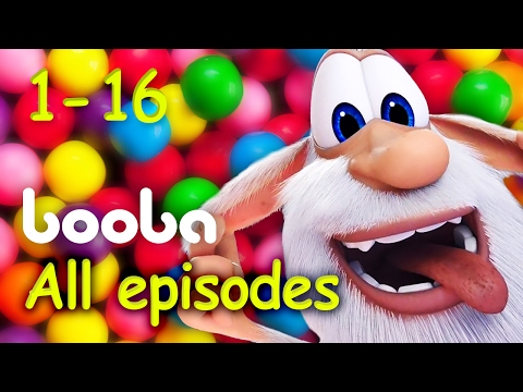 ⭐Booba - All Episodes Compilation (16 -1) Funny cartoons for kids буба 2017 KEDOO animation for kids thumbnail