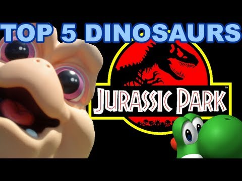 TOP 5 DINOSAURS of the 80s-90s (Halloween Special) Black Nerd Comedy