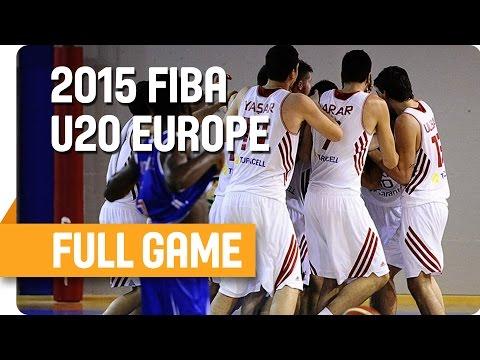 Turkey v Great Britain - Group D - Live Stream - U20 European Championship Men