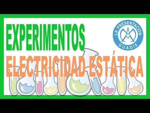 Experimento: Electricidad estática con globos