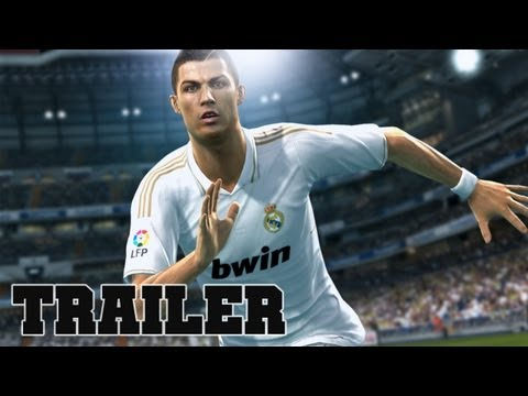 CRISTIANO RONALDO in PES 2013 Pro Evolution Soccer Official Trailer