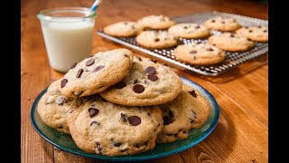 Perfect Soft And Chewy Chocolate Chip Cookies Recipe | Delish Insanely Easy