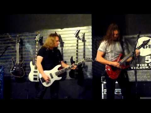 Jackson Guitar Clinic with Chris Broderick and Dave Ellefson of Megadeth