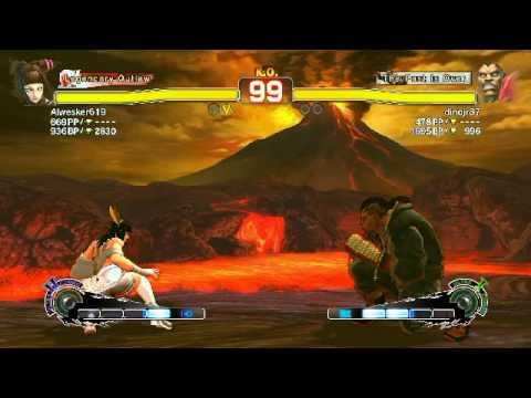 Ultra Street Fighter Iv Juri Vs Balrog| Footjob Edition video