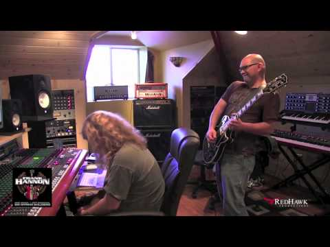 Frank Hannon | Mike Araiza records guitar solo for