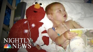 Inspiring America: Stuffed Toy Doctor Puts Children At Ease Before Surgery   NBC Nightly News