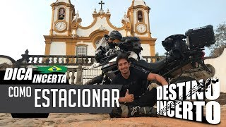 Como estacionar a moto! / MOTO DICA #12 - MOTO.COM.BR