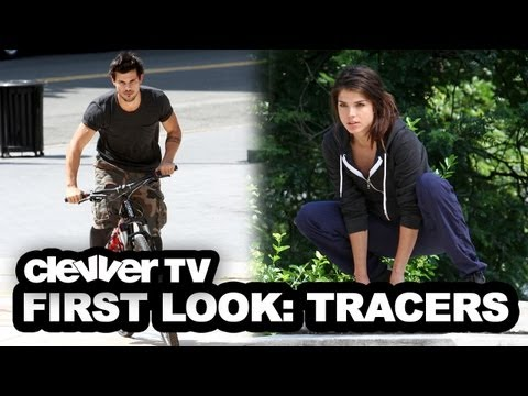 "Taylor Lautner & Love Interest Wild Stunts on ""Tracers"" Set - Photos"