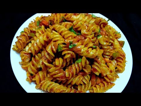 indian pasta recipe || tomato ketchup pasta