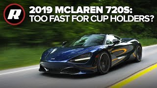 2019 McLaren 720S Review: We regret asking for your questions -- yes, it has cup holders (4K)
